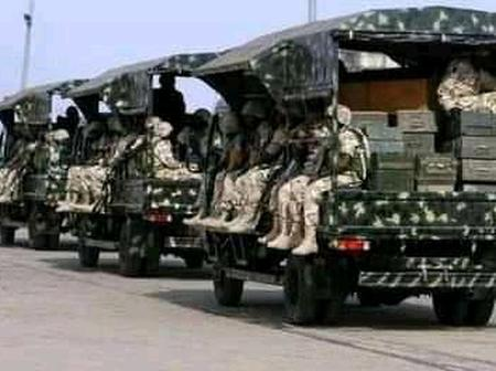 Akwa Ibom Insecurity: Heavily Armed Military Personnel Invade Essien Udim To Chase Away Hoodlums.