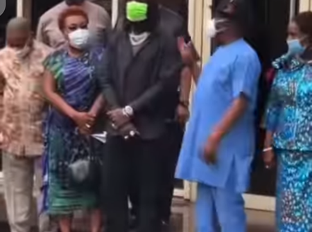 Rivers State Governor Host Singer, Burna Boy In Port Harcourt (Video)
