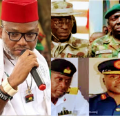 ORLU CRISIS: See What Nnamdi Kanu Said To ESN Days After President Buhari Appoint New Service Chiefs