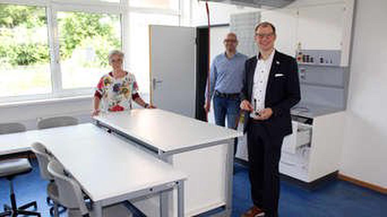 Lehrküche an Georg-August-Zinn-Schule wird umgebaut