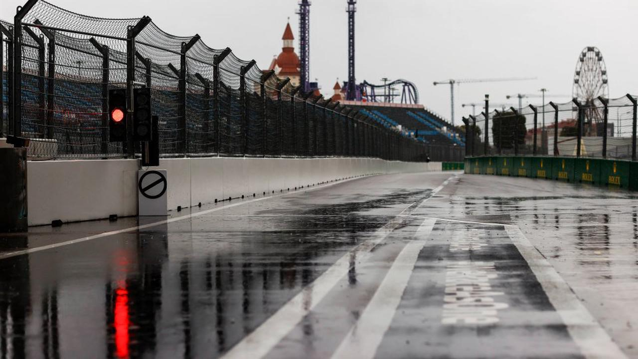 Formel 1 – Russland-GP: Wolkenbruch über Sotschi