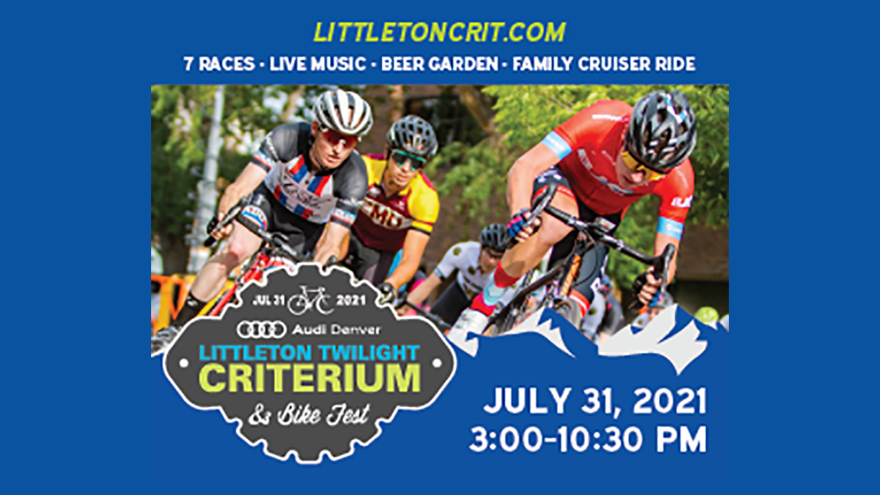 The country's top cyclists to race through downtown Littleton at the Littleton Twilight Criterium