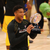 Nigeria-born Giannis Antetokounmpo and the winners from the 2021 NBA All-star game