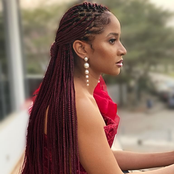 Check out the classy outfit Adesua Etomi wore to Funmi Wellington's wedding that has impressed fans