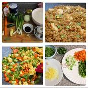 Simple steps to make delicious fried rice for your family.