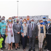 U.S. government supports Covid-19 vaccine deployment in Ghana.