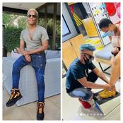 Here's What Somizi Did For His Plus-Size Fans. It Is Very Heartwarming & Will Leave You In Tears!
