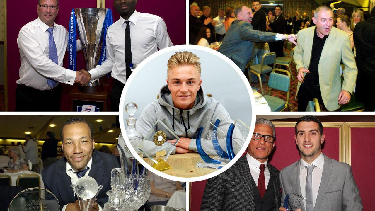 In pictures: Carlisle United award-winners down the years