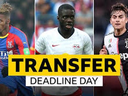 Deadline Day! Football Transfer Gists.