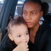 Checkout reactions as Queen Nwokoye flaunts her beautiful daughter, says
