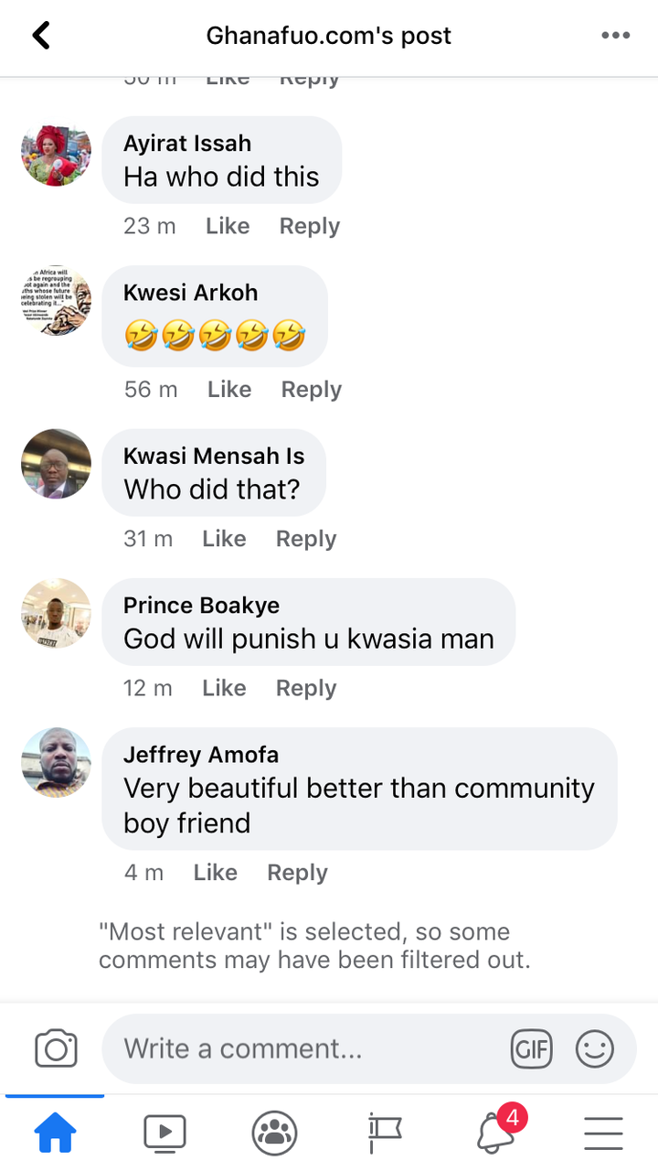 """52fc58667d7eb84b9ba2456f1888d441?quality=uhq&resize=720 - """"Who Did This?"""" - Ghanaians React To A Bizarre Sculpture Of Nana Addo"""