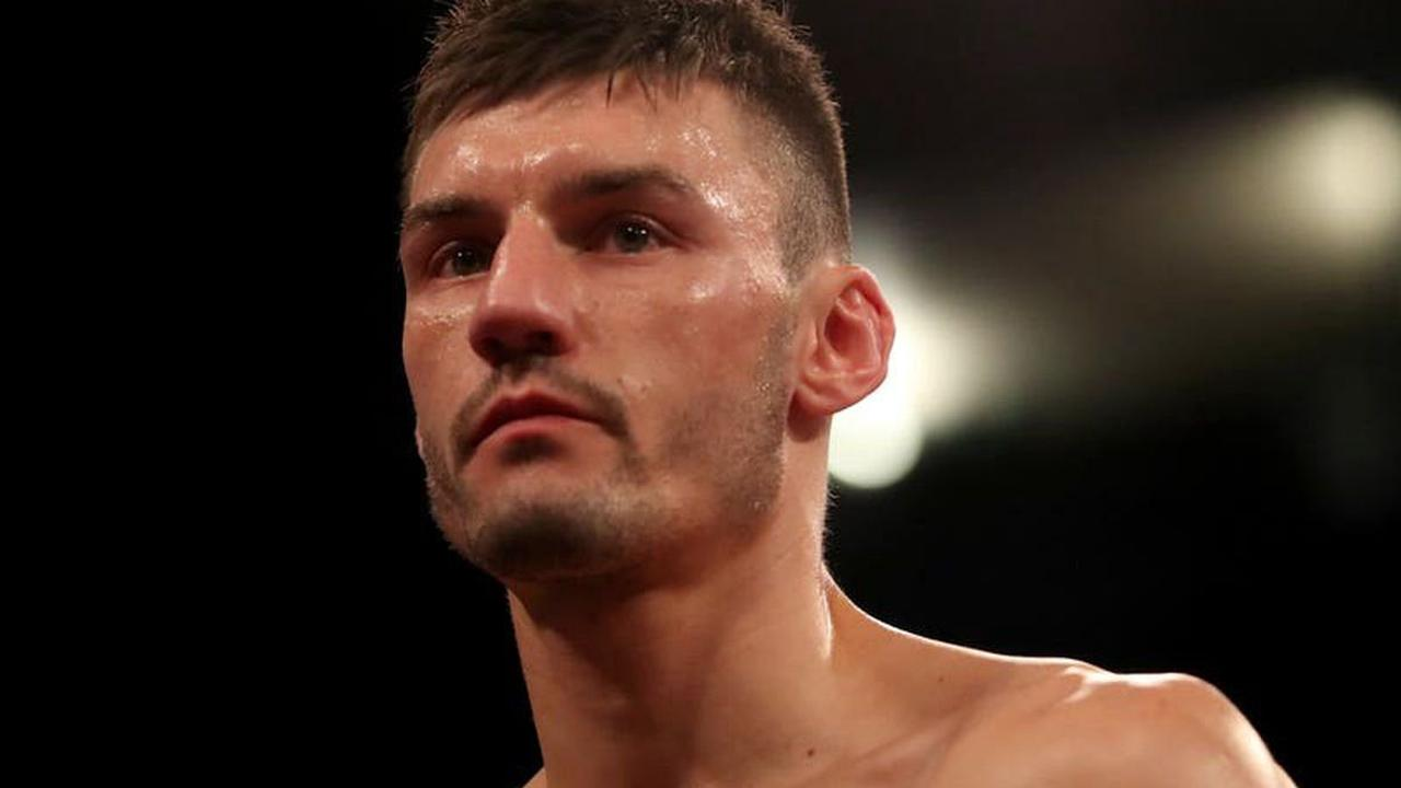 Leigh Wood stuns Xu Can to claim WBA featherweight world title in Brentwood