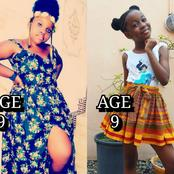 They Are Both 9 Years Old, See The Drastic Effect Growth Made On Nollywood's Star Kids (Photos)
