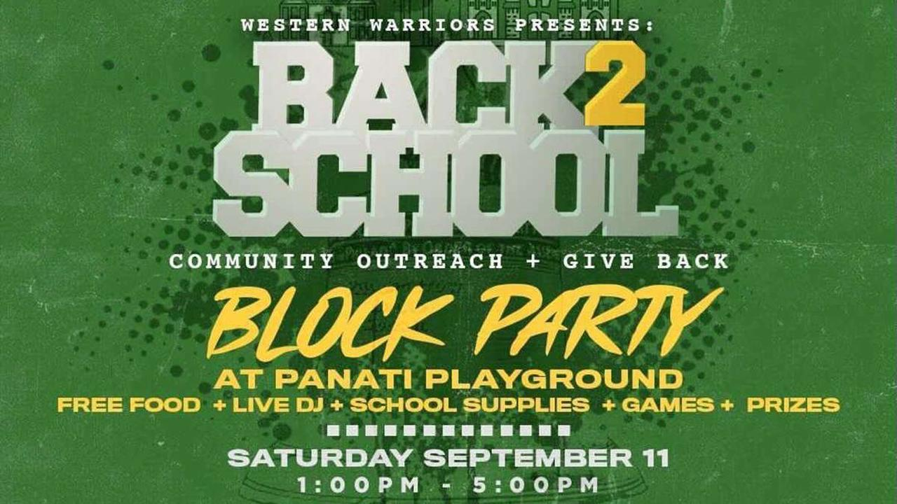 Back2School Block Party to Provide Healthy Food, School Supplies and Fun in North Philly
