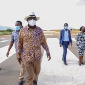 Kenyans React To Raila Odinga's Message in Vernacular After Landing at the Coast (PHOTOS)