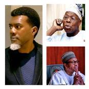 Learn Leadership From Ex President Obasanjo- Reno Omokri Tells Buhari.