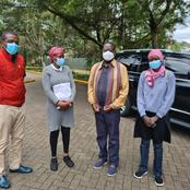 Raila Odinga Finally Meets Family of Ailing Ayimba a Day After Uhuru Gave Them Ksh 1Million