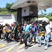 SRC Send Bad News To Zondo And Motshekga As Under Graduates Start Strong Protest In KZN