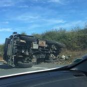 Serbie : Un véhicule anti-aérien fait un accident spectaculaire