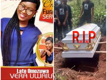 Vera Was Murdered in The Church, May Her Soul Rest in Peace As She is Laid To Rest Today