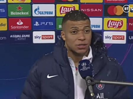 Mbappe Reveals What Pochettino Told PSG Players At Half Time That Helped PSG Secure Win Over Bayern
