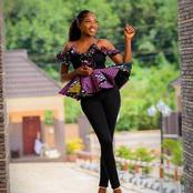 Best Ankara Peplum Top Styles To Slay With Your Jeans This Easter!