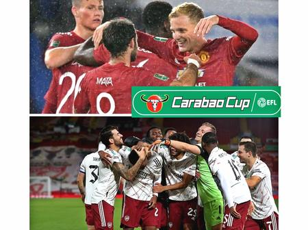 The Carabao cup Quaterfinal draw is out, Arsenal and Man united to face tough tests