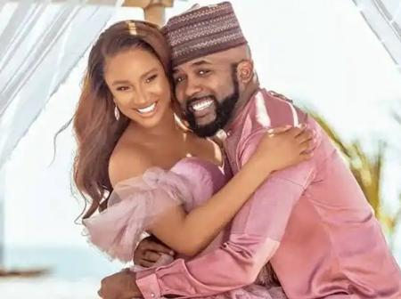 After Actress Adesua Etomi Wrote A Love Letter To Banky W On His Birthday, See How He Replied Her