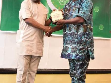 Agbazuere Bags The Most Outstanding Integrity Chief Of Staff Of The Year Award