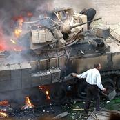 27 Photos Of Bombed Armoured Tanks That Shows They Are Not Indestructible.