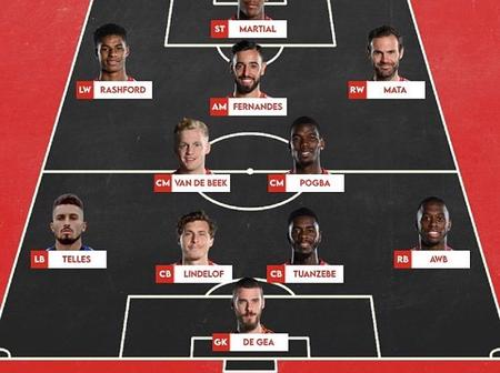How Manchester United Could Lineup Against Southampton Tomorrow