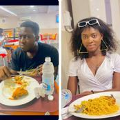 He Couldn't Laugh Even On A Date, See Reactions To The Look On A Man's Face While On A Date