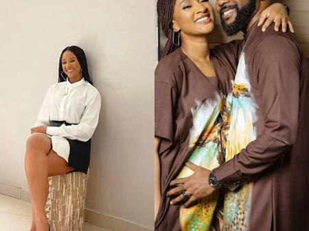 Checkout Banky W's Reaction As His Wife Adesua Shares New Stunning Photos