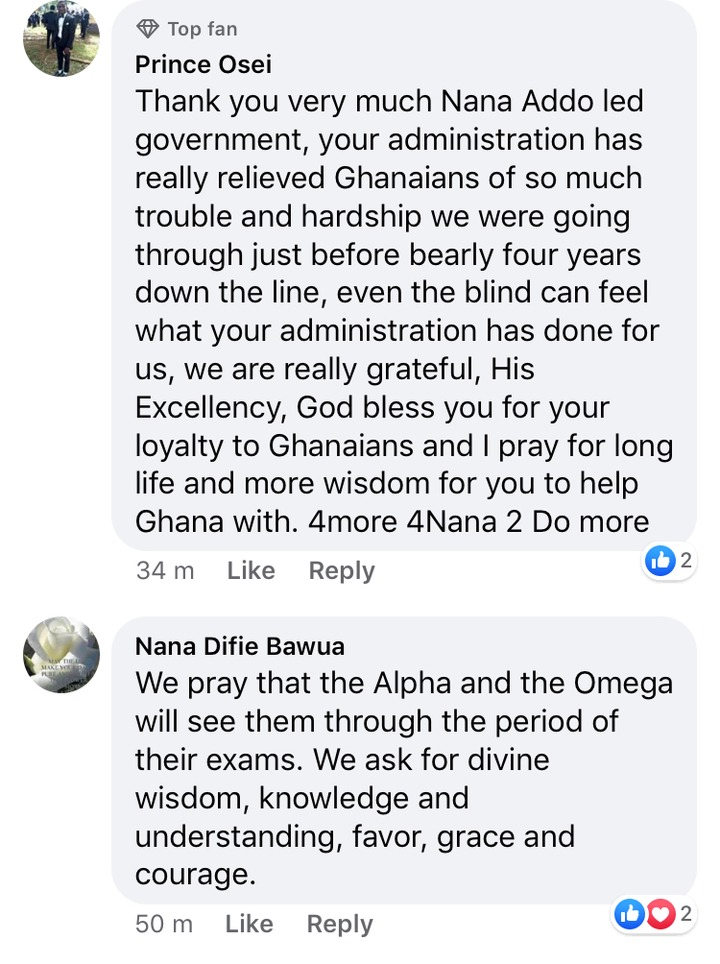5388107d184da7a25e97171ed962809c?quality=uhq&resize=720 - Ghanaians React After Nana Addo Wished First Batch Of Free SHS Students Well In Their Final Exams