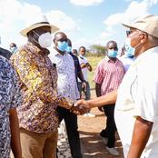 Unusual Thing Raila Odinga did When he Landed at the Coast on Monday Evening (Photos)