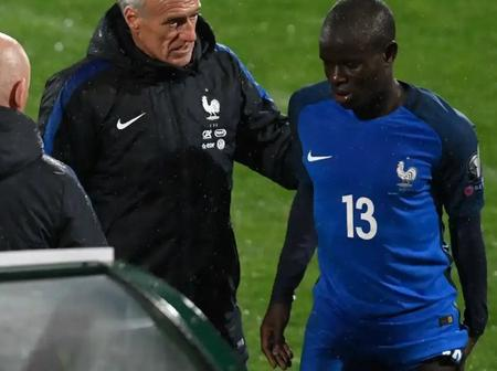 Frank got the ball rolling as Chelsea FC fans laments N'golo Kante's injury.