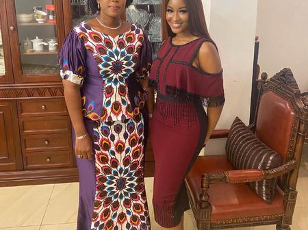 Fans Reacts To Kimoprah And Sierra Leone First Lady Pictures