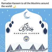 Check Out Photos Of Big Clubs Wishing Their Muslim Fans Well Ahead Of Ramadan