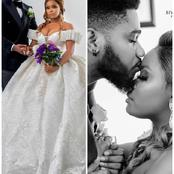 BBNaija's Praise Sparks Reactions After Uploading Wedding-Themed Photos; Dorathy And Tochi React