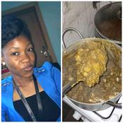 Cooking Gone Wrong As Lady Laments Over The Color Of Her Porridge