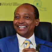 BREAKING: Billionaire Patrice Motsepe Runs First FIFA Presidential Candidate