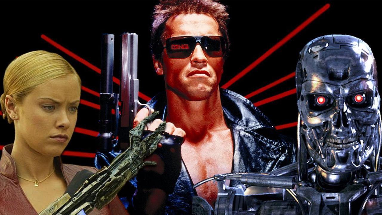 Le Terminator T-800 et Sarah Connor dans Fortnite