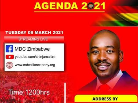 'Good news to all Zimbabweans as their young president with vision will be addressing' - OPINION
