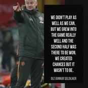 Solksjaer believes Manchester United deserve to win against Liverpool