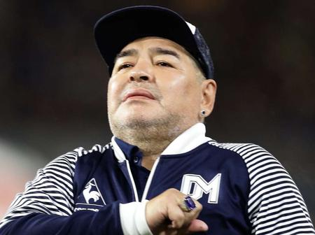 Diego Maradona Is Dead: See The Beautiful Family He Left Behind