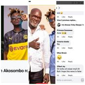 Here Are The Reactions People Made When Quamina MP And His Dad Had An Accident