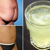 Home remedy to get rid of belly fat.