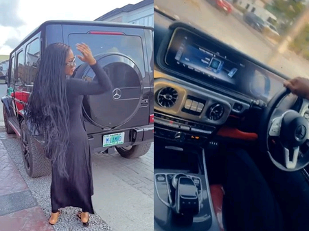 Video: Mercy Lambo Adds Another New Whip To Her Collection