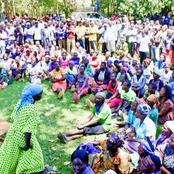 Senator Omanga Addresses A Political Rally Standing On A Table [Photos]
