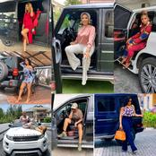 Apart From Destiny Etiko, See Other Actresses that own and drive Expensive Cars like G-wagon.